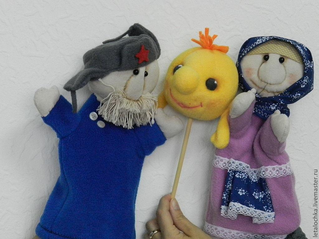 Куклы на руку для кукольного театра выкройки бабки