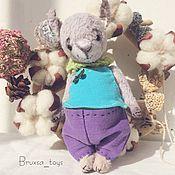 Куклы и игрушки ручной работы. Ярмарка Мастеров - ручная работа Тедди овечка Бенси. Handmade.