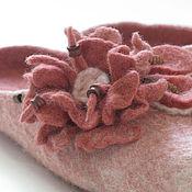 """Обувь ручной работы. Ярмарка Мастеров - ручная работа тапочки женские """" Мальва """". Handmade."""