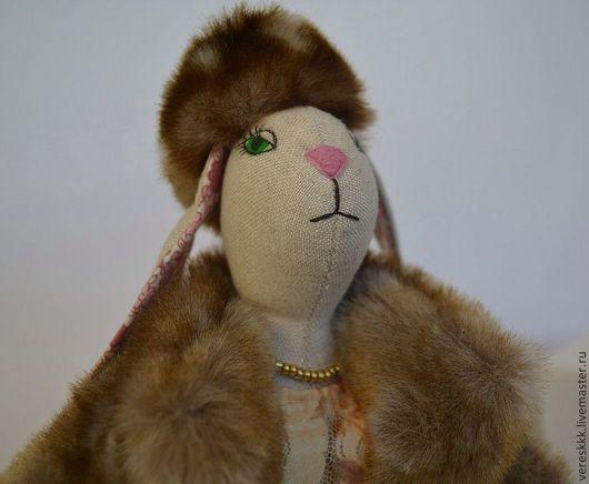 """Куклы Тильды ручной работы. Ярмарка Мастеров - ручная работа. Купить кукла Тильда """" Зайчиха-боярыня """". Handmade."""
