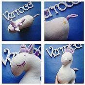 """Куклы и игрушки ручной работы. Ярмарка Мастеров - ручная работа Мягкая игрушка """"Единорожек"""". Handmade."""