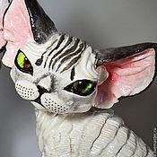 Для дома и интерьера handmade. Livemaster - original item Picada. Cat Devon Rex. Handmade.