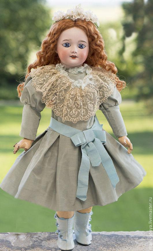 Винтажные куклы и игрушки. Ярмарка Мастеров - ручная работа. Купить Французская антикварная фарфоровая кукла SFBJ 301. Handmade. Антик