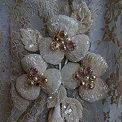 Украшения handmade. Livemaster - original item Floral brooch