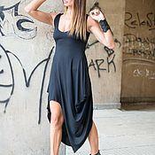 Одежда handmade. Livemaster - original item Asymmetric, casual dress-DR0566TR. Handmade.