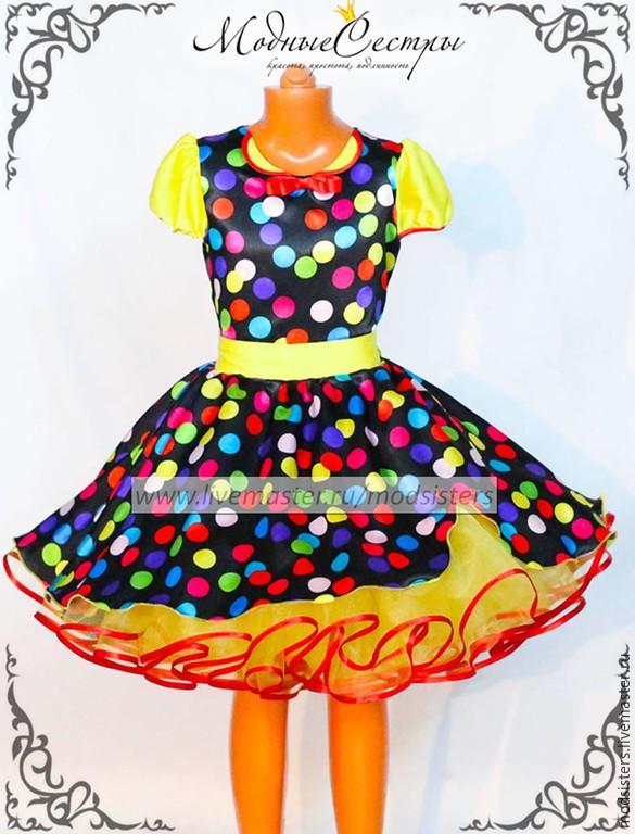 Платье стиляги для девочек своими руками 646