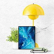 Картины и панно handmade. Livemaster - original item Abstract oil painting Living water. Handmade.