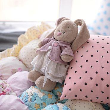 Works for children handmade. Livemaster - original item Baby blanket BOM-Bon