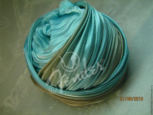 Для украшений ручной работы. Ярмарка Мастеров - ручная работа. Купить Ленты Шибори Silk Ribbons Shibori №139 Принцесса Монако. Handmade.
