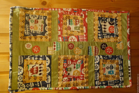 """Текстиль, ковры ручной работы. Ярмарка Мастеров - ручная работа. Купить Панно """"Моя любимая кухня"""". Handmade. Оранжевый"""