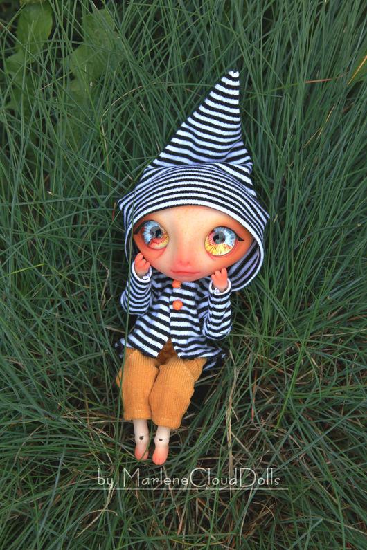 Коллекционные куклы ручной работы. Ярмарка Мастеров - ручная работа. Купить Изгой в брючках. Шарнирная кукла. BJD. Handmade. Комбинированный