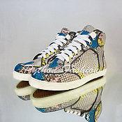 Обувь ручной работы handmade. Livemaster - original item Sneakers Python skin ASPEN. Handmade.