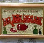 Картины и панно ручной работы. Ярмарка Мастеров - ручная работа Колбасы на всех не хватит. Handmade.