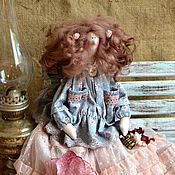 Куклы и игрушки ручной работы. Ярмарка Мастеров - ручная работа Скарлетт.Тильда в стиле бохо.. Handmade.