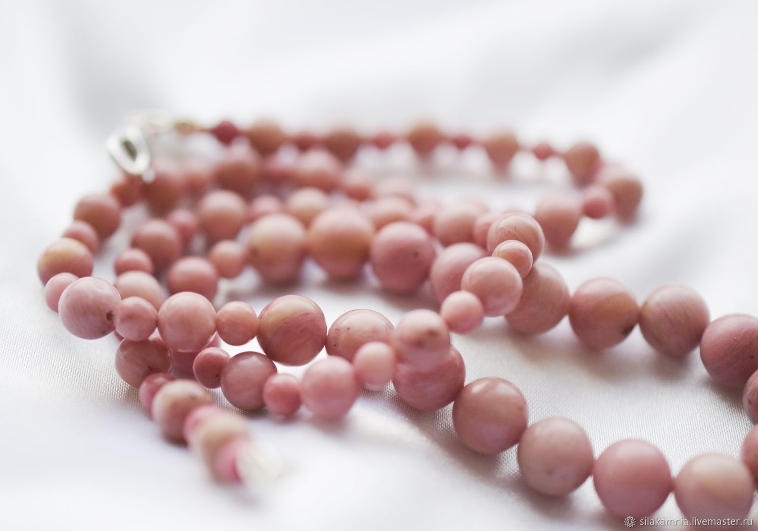 Rhodonite. beads, Necklace, Odessa,  Фото №1