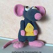 Куклы и игрушки ручной работы. Ярмарка Мастеров - ручная работа Мышь Сыроешкин. Handmade.