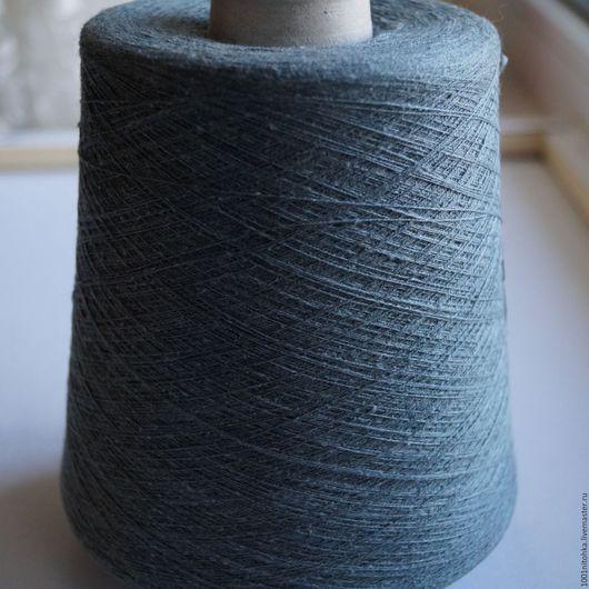 Вязание ручной работы. Ярмарка Мастеров - ручная работа. Купить Шелк Vanessa. Handmade. Тёмно-зелёный, пряжа для вязания