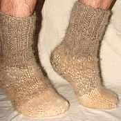 Аксессуары handmade. Livemaster - original item Thick socks cashmere