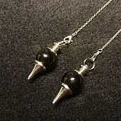 Фен-шуй и эзотерика handmade. Livemaster - original item Pendulum of black agate. Handmade.