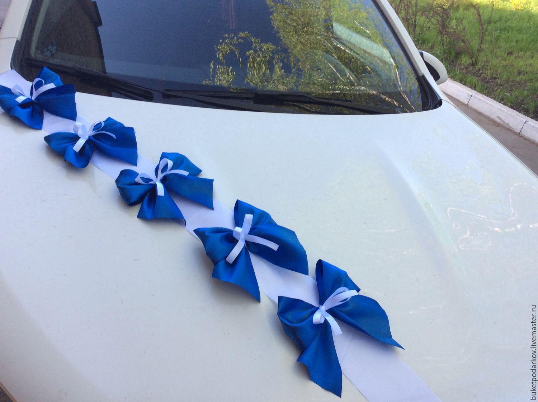 Украшение машины для гостей на свадьбу