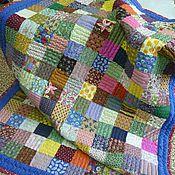 Русский стиль ручной работы. Ярмарка Мастеров - ручная работа Русское лоскутное одеяло. Handmade.