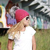 Аксессуары handmade. Livemaster - original item Hat colorful wool from bulk yarn