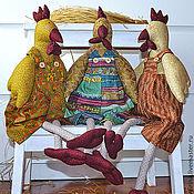 Куклы и игрушки ручной работы. Ярмарка Мастеров - ручная работа Тильда курица. Handmade.