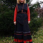 """Одежда ручной работы. Ярмарка Мастеров - ручная работа Жакет черный """"Этнический"""". Handmade."""
