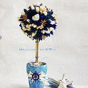Цветы и флористика ручной работы. Ярмарка Мастеров - ручная работа Топиарии или сама садик я садила:). Handmade.