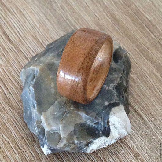 Кольца ручной работы. Ярмарка Мастеров - ручная работа. Купить Деревянное кольцо Нежная Нежность. Handmade. Бежевый, кольцо из дерева