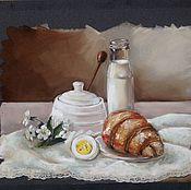 Картины и панно ручной работы. Ярмарка Мастеров - ручная работа Вкусное утро. Handmade.