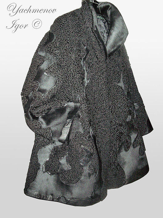 Верхняя одежда ручной работы. Ярмарка Мастеров - ручная работа. Купить Перекрой. Шуба из каракуля.. Handmade. Каракуль, шуба, реставрация