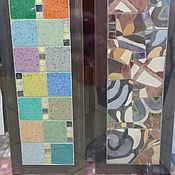 """Для дома и интерьера ручной работы. Ярмарка Мастеров - ручная работа Мозаика, Полка """"Испанец"""". Handmade."""