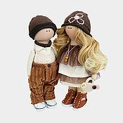 Материалы для творчества handmade. Livemaster - original item Set for sewing dolls Eric and Ella. Handmade.