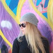 Аксессуары handmade. Livemaster - original item Hat with sequins thin
