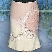 Одежда ручной работы. Ярмарка Мастеров - ручная работа Валяная юбка...Солнечные зайчики. Handmade.