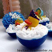 """Косметика ручной работы. Ярмарка Мастеров - ручная работа Мыло """"Утенок в ванне"""". Handmade."""