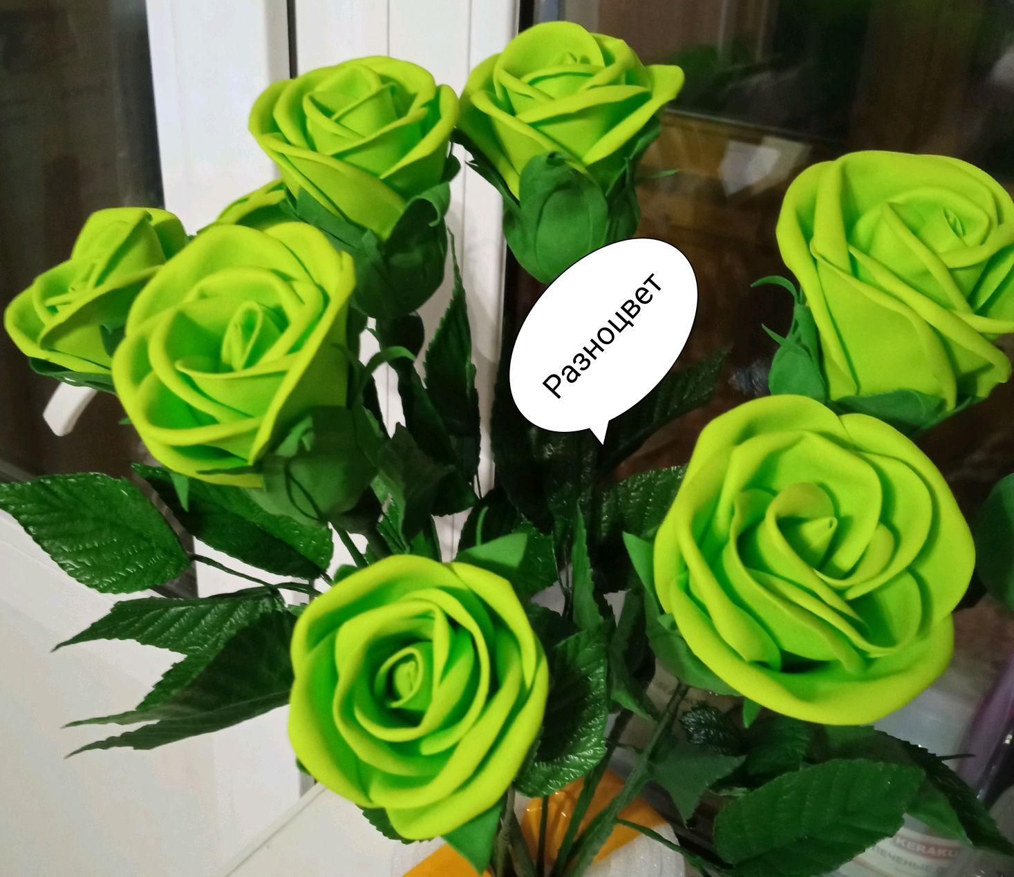 Розы зеленые, Цветы, Нижний Новгород,  Фото №1