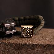 Сувениры и подарки handmade. Livemaster - original item Knife bead rune     ,knife bead. Handmade.