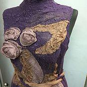 """Одежда ручной работы. Ярмарка Мастеров - ручная работа Летний кардиган """" Ветер перемен"""". Handmade."""