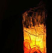 """Для дома и интерьера ручной работы. Ярмарка Мастеров - ручная работа Светильник """"Огонь"""". Handmade."""