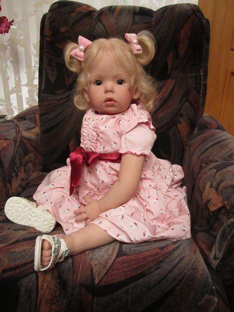 Куклы-младенцы и reborn ручной работы. Ярмарка Мастеров - ручная работа. Купить Кукла реборн Светланка. Handmade. Малышка, купить