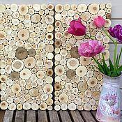 """Картины и панно ручной работы. Ярмарка Мастеров - ручная работа трио """"Поморье """" комплект из 3-х панно 30 на 60 см. Handmade."""