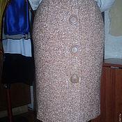 Одежда ручной работы. Ярмарка Мастеров - ручная работа Юбка на застёжке. Handmade.