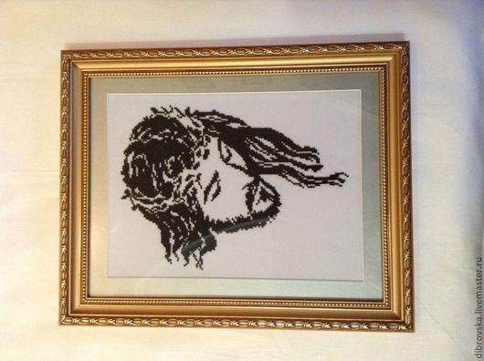 Иконы ручной работы. Ярмарка Мастеров - ручная работа. Купить Иисус Христос. Handmade. Чёрно-белый, Икона на заказ, Спаситель
