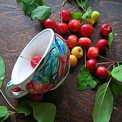 Посуда ручной работы. Ярмарка Мастеров - ручная работа Аленький цветочек, чашечка. Handmade.