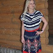 Одежда handmade. Livemaster - original item Dress coupon knit.. Handmade.