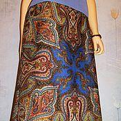Одежда handmade. Livemaster - original item Skirt pavlogoradsky scarves