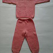 Работы для детей, ручной работы. Ярмарка Мастеров - ручная работа Детский костюмчик для девочки.. Handmade.