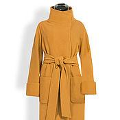 Одежда ручной работы. Ярмарка Мастеров - ручная работа Пальто зимнее драповое Тереза. Handmade.
